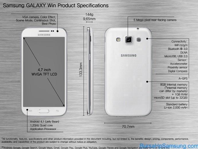 Smartphone Samsung, harga samsung galaxy win, harga Samsung Galaxy Win I8552, samsung galaxy win indonesia, harga dan spesifikasi samsung galaxy win, harga Samsung Galaxy Win GT-I8552,