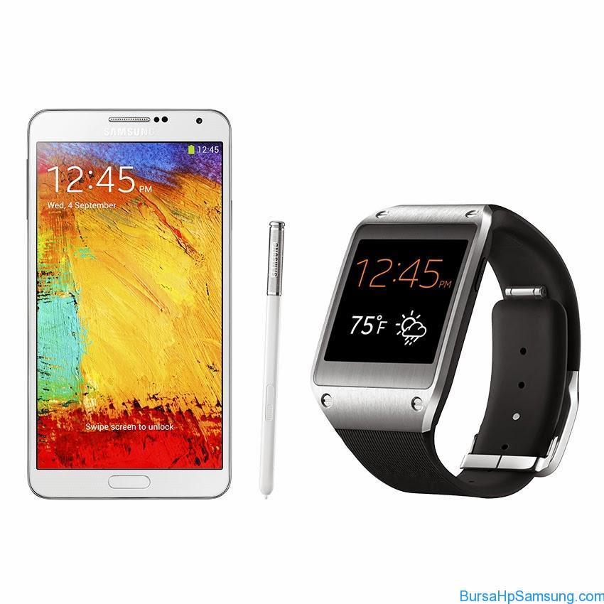 Samsung Tablet, Samsung Galaxy Note 3 + Gear Harga dan Spesifikasi, Samsung Galaxy Note 3 + Gear di Indonesia, Samsung Galaxy Note 3 + Gear 2014, Samsung Galaxy Gear, Samsung Phablet Terbaru 2014