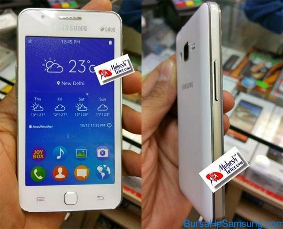 Berita Samsung Terbaru, Smartphone Samsung, Samsung Z1, Harga Samsung Z1, Spesifikasi Samsung Z1,