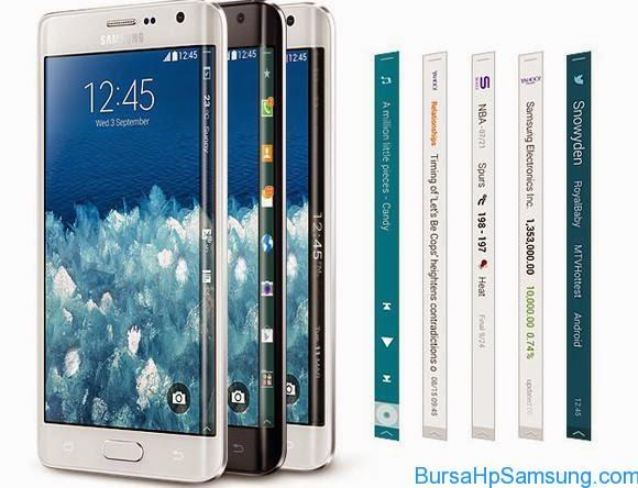 Smartphone Samsung, Harga Galaxy Note Edge, spesifikasi Galaxy Note Edge, Beli Galaxy Note Edge di Indonesia,