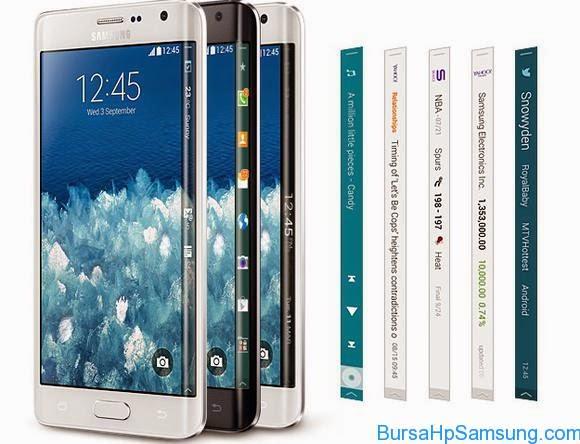 Smartphone Samsung, Harga galaxy Note Edge, spesifikasi Galaxy Note Edge, Beli Galaxy Note Edge di Indonesia,