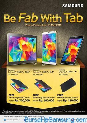 Promo Hp Samsung, promo galaxy tab samsung, Promo Samsung Galaxy Tab S dan Galaxy Tab 4