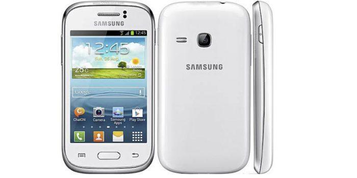 Samsung Galaxy Young S6310 Harga dan Spesifikasi Terbaru 2021