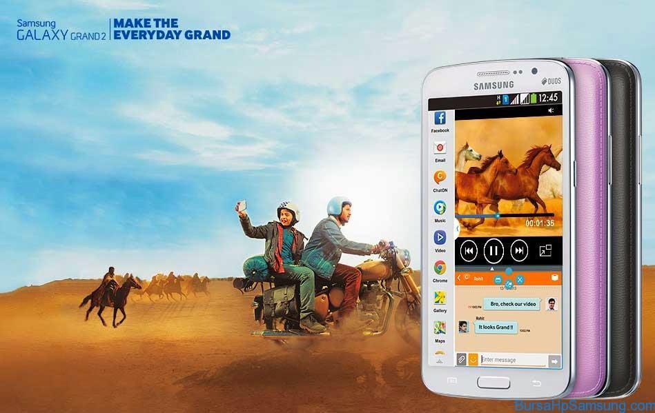 Harga dan Spesifikasi Samsung Galaxy Grand 2 SM G71021 Terbaru 2017
