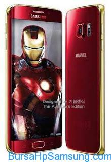 Berita Samsung Terbaru, samsung galaxy s6, samsung galaxy s6 versi iron man
