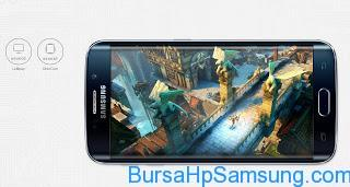 Berita Samsung Terbaru, kelebihan samsung galaxy s6, layr galaxy s6, Ponsel Samsung Berlayar Super AMOLED Terbaik,