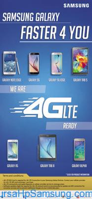 Berita Samsung Terbaru, Galaxy A5, Galaxy Alpha, Galaxy Note Edge, galaxy s6, galaxy S6 Edge, Galaxy Tab A, galaxy tab s, HP dan Tablet Samsung Ready 4G LTE,