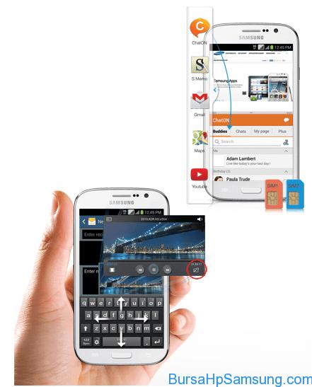 Samsung Galaxy Grand Neo Duos, Samsung Galaxy Grand Neo GT-I9060 Harga dan Spesifikasi, Samsung Galaxy Grand Neo GT-I9060 di Indonesia, Smartphone Samsung,