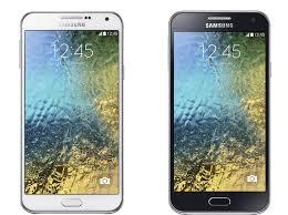 Galaxy e5 dan Galaxy e7