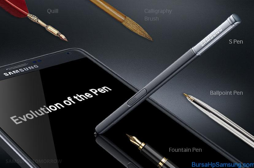 s pen evolution