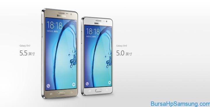 Spesifikasi Samsung Galaxy On5 dan Galaxy On7