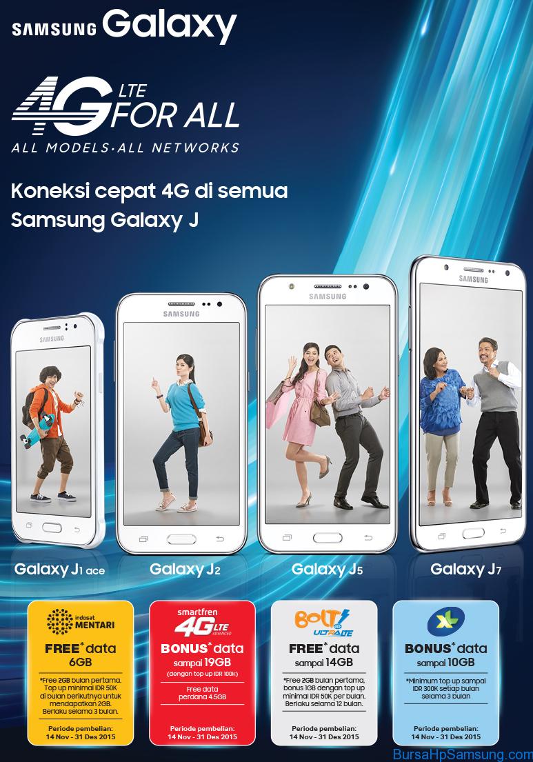 Promo Hp Samsung Galaxy 4G
