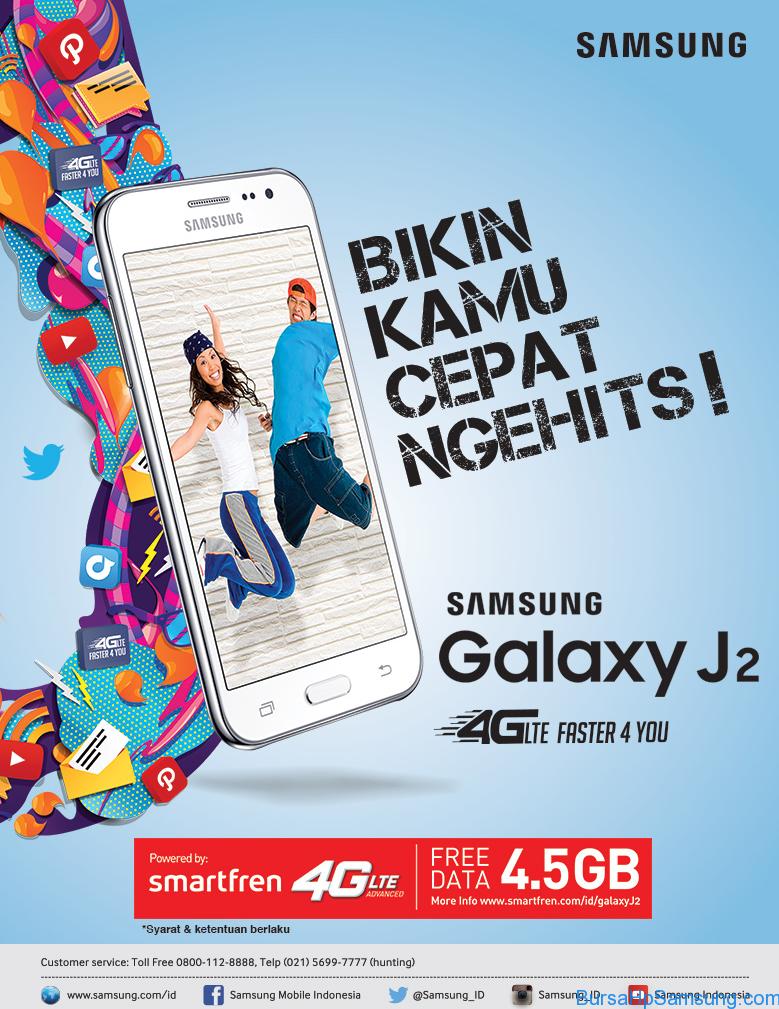Samsung Galaxy J2 Smartfren Promo