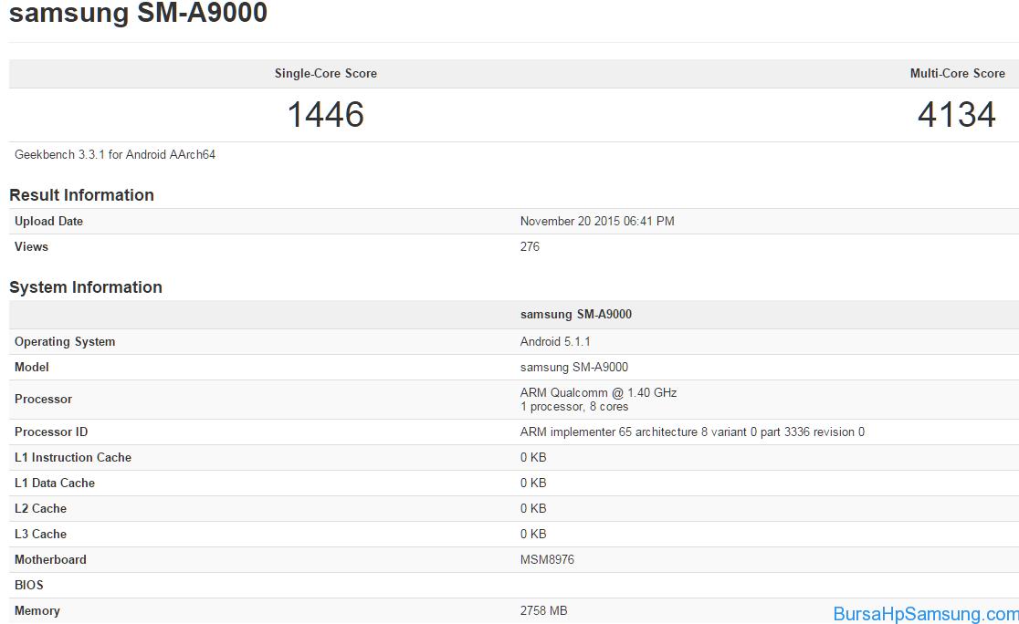 spesifikasi-Samsung-Galaxy-A9-Geekbench-Leak