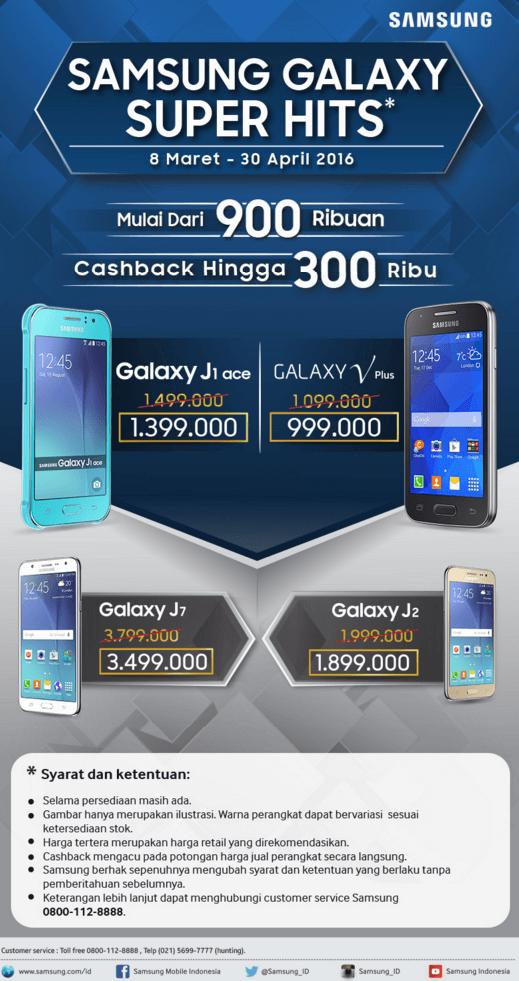 Promo Samsung Galaxy Super Hits