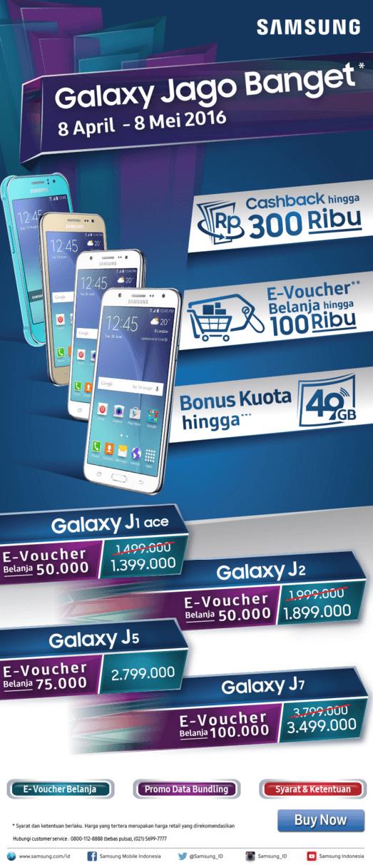 Promo HP Samsung Terbaru Galaxy Jago Banget Info Lengkap