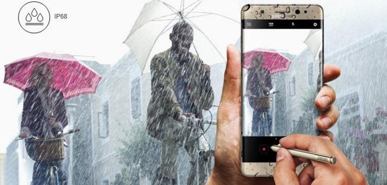 Fitur dan Kelebihan Galaxy Note 7 - Anti Air