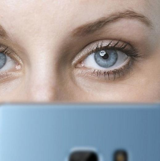 Fitur dan Kelebihan Galaxy Note 7 - Iris scanner