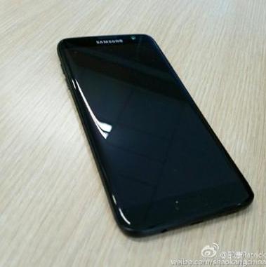 Samsung Galaxy S7 Edge Glossy Jet Black