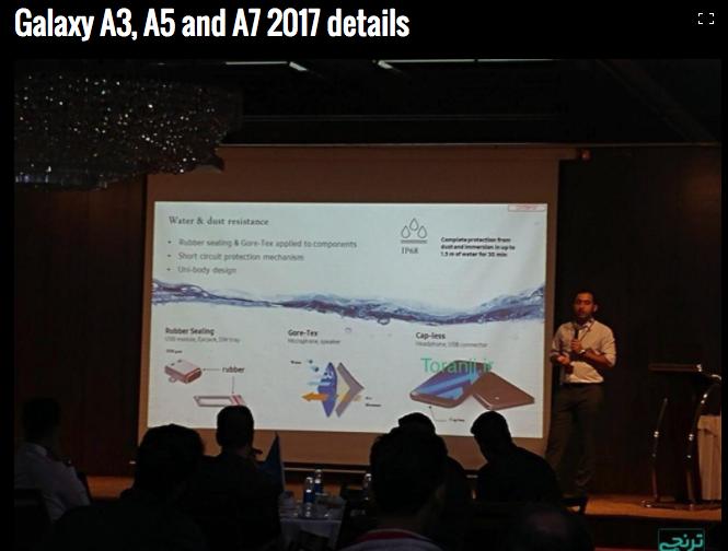 Samsung A Series 2017
