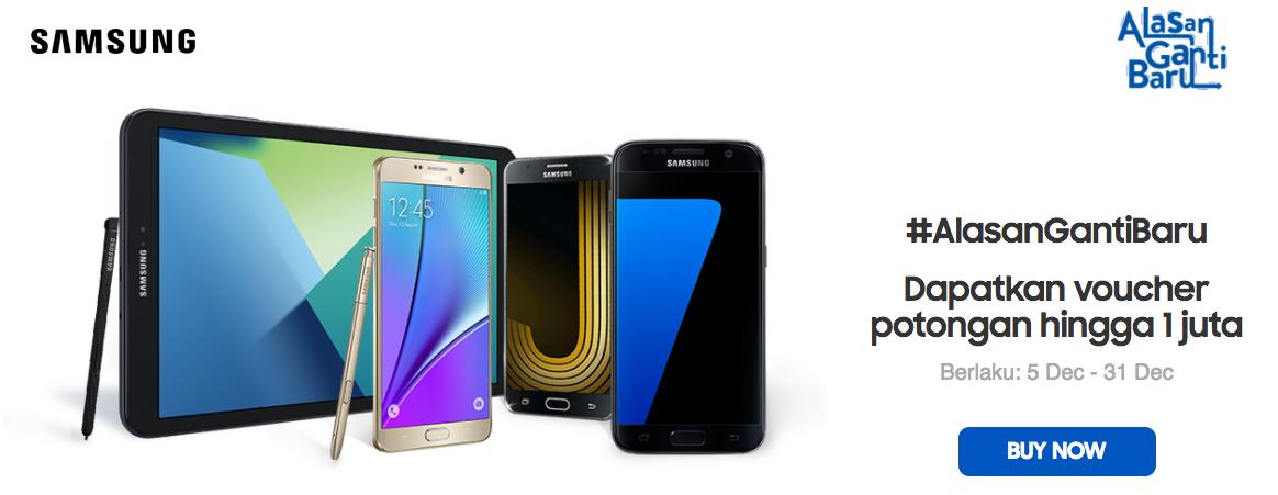 Promo Akhir Tahun Hp Samsung