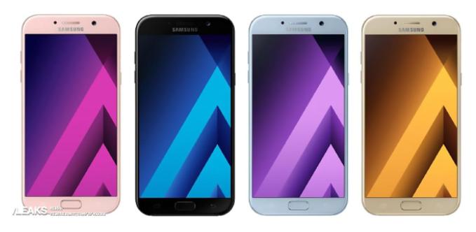 Samsung Galaxy A5 2017 Warna, Spek dan Harga