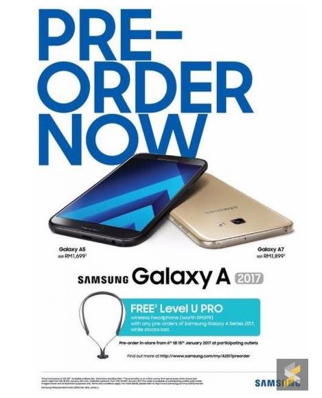Samsung Galaxy A3 2017, Galaxy A5 2017 dan Galaxy A7 2017