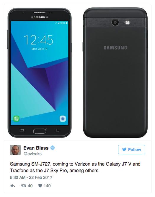 Samsung Galaxy J7 (2017) SM-J727