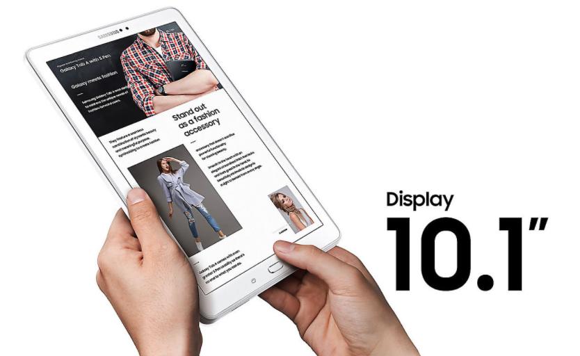 Galaxy Tab A 2016 Layar Lebar 10.1 Inci
