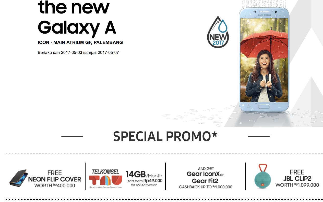 Promo Explore The New Galaxy A