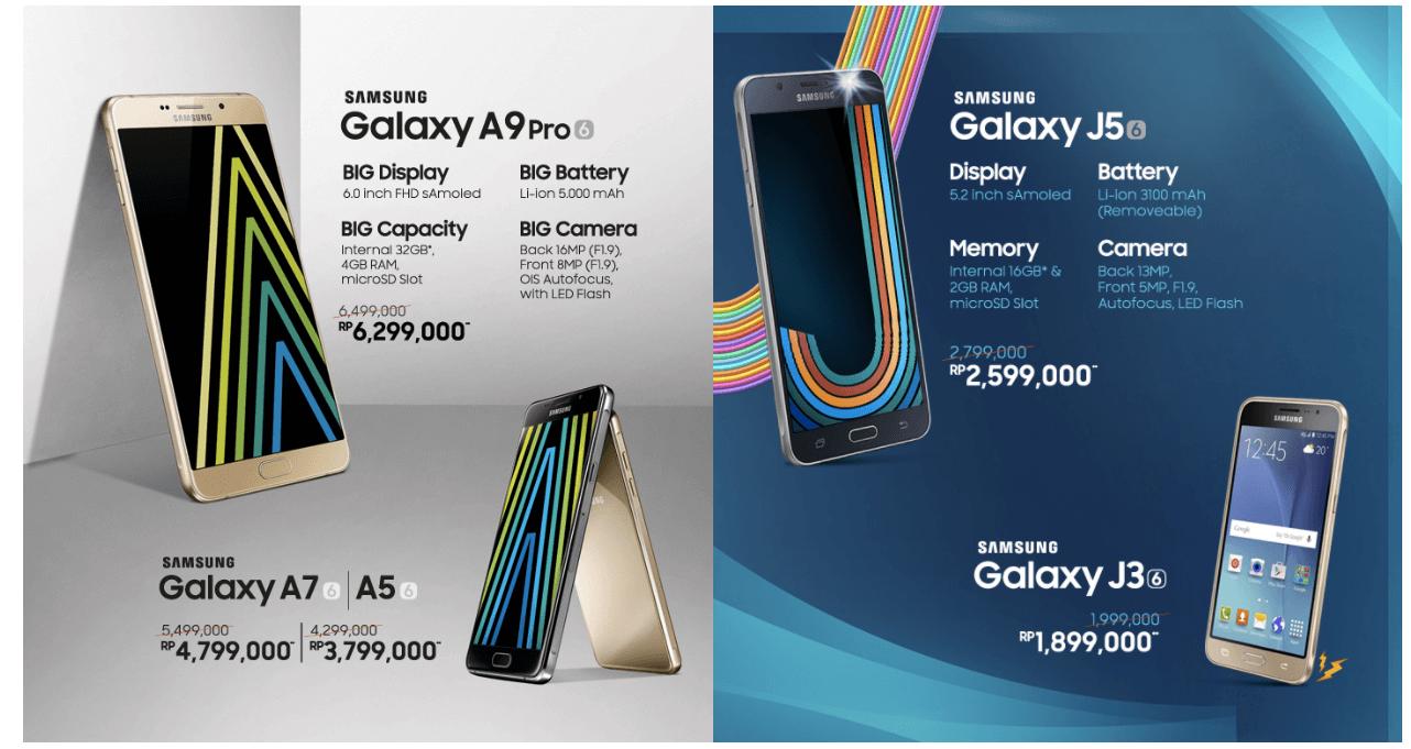 Promo Samsung Salebration 2017
