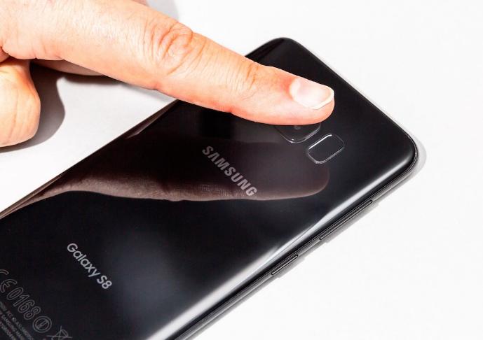 Sensor fingerprint Galaxy Note 8
