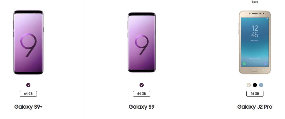 Daftar Hp Samsung Terbaik Baru Dirilis
