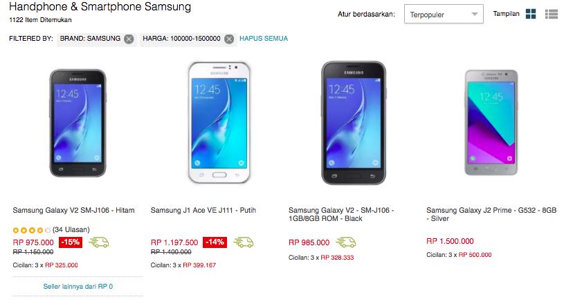 Hp Samsung Yang Bagus dan Murah