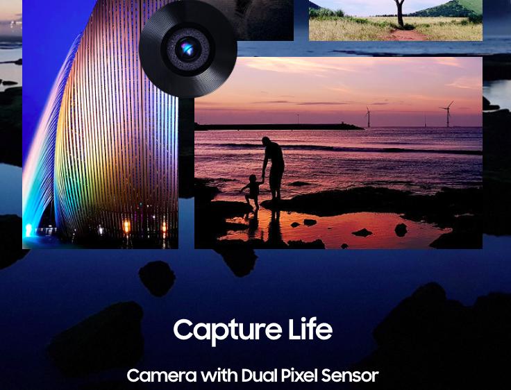 Samsung Galaxy Note FE -Kamera Dual Pixel Sensor