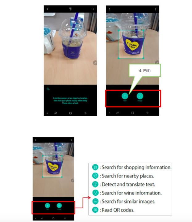 Cara Mengaktifkan dan Menggunakan Bixby Vision