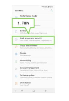 Cara Menghapus Data Iris Pada Note 8