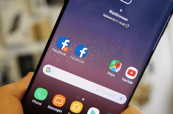 Cara Menggunakan Aplikasi Dual Messenger di Samsung Note 8 dengan OS Oreo