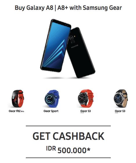 Promo Samsung S9 dan S9+ dan Samsung A8 dan A8+ 2018
