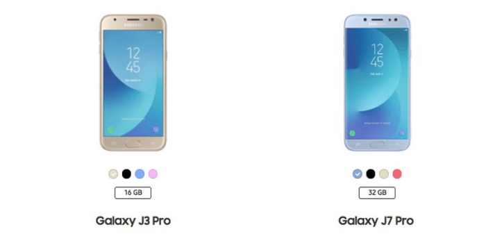 Harga Samsung Galaxy J Pro Series