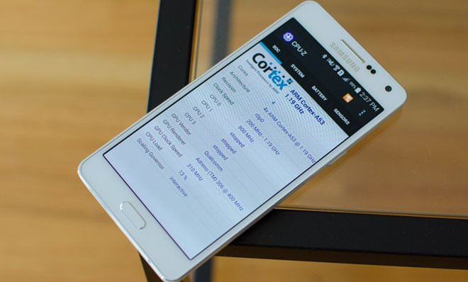 Samsung a5 spek, Samsung Galaxy a5 spek