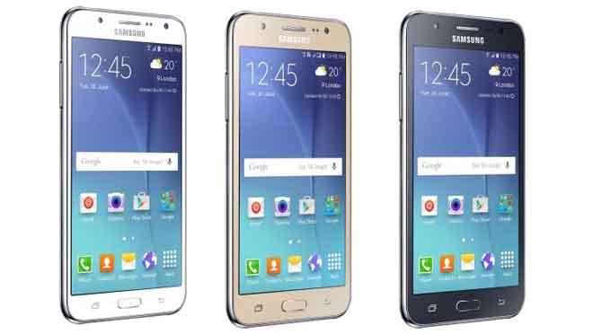 Samsung Galaxy J5 Desain
