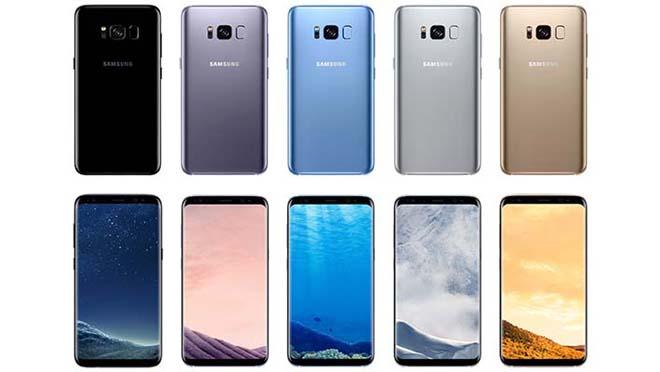 Samsung Galaxy S8 Desain