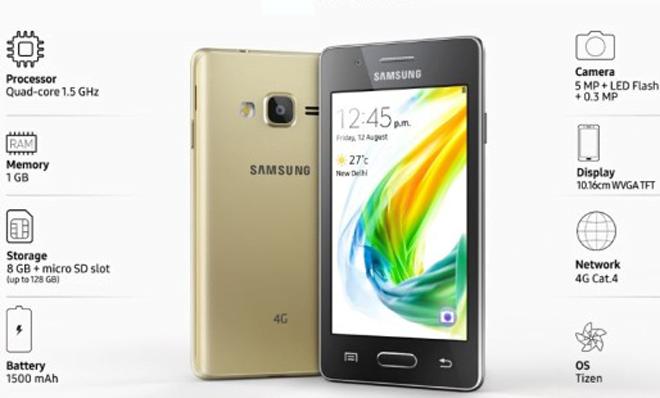 Samsung z2, harga Samsung z2, spek Samsung z2