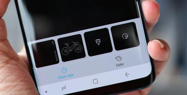 Tampilan Baru 'Always on Display' dan ClockFace Samsung