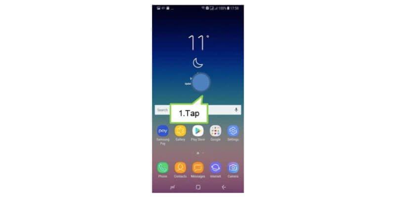 Cara Menampilkan atau Menyembunyikan Aplikasi di Galaxy A8