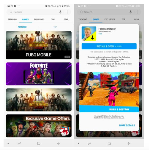Cara Install Game Fortnite untuk Android di Hp Samsung Galaxy