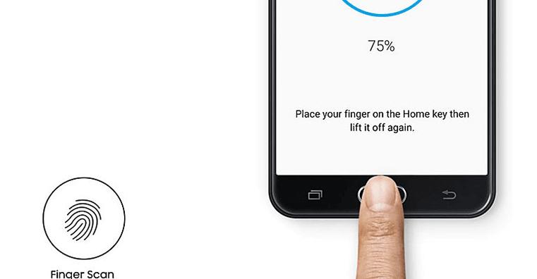 Fingerprint Samsung Galaxy J5 Prime