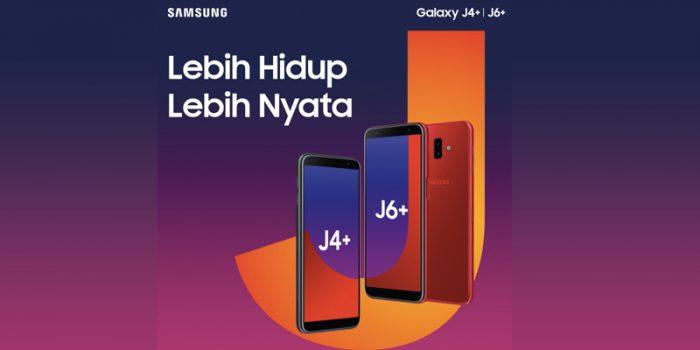 Samsung J6+ dan Samsung J4+