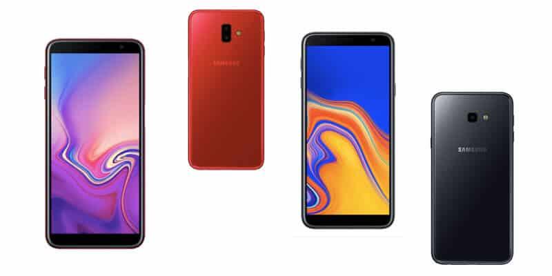 Spesifikasi dan Harga Samsung Galaxy J6+ dan J4+